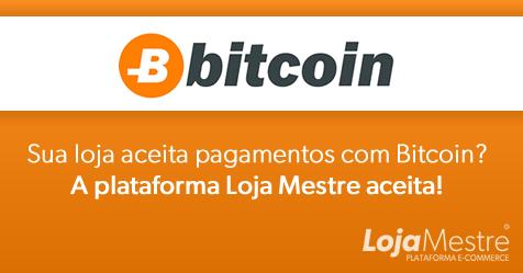 Loja Virtual que aceita Bitcoin