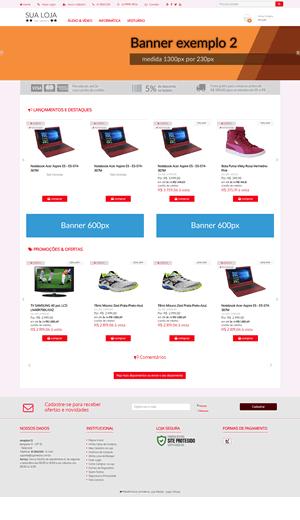 Novos templates para loja virtual