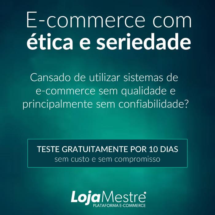 E-commerce com seriedade e ética